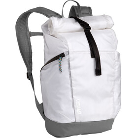 CamelBak Pivot Roll Top Zaino, bright white